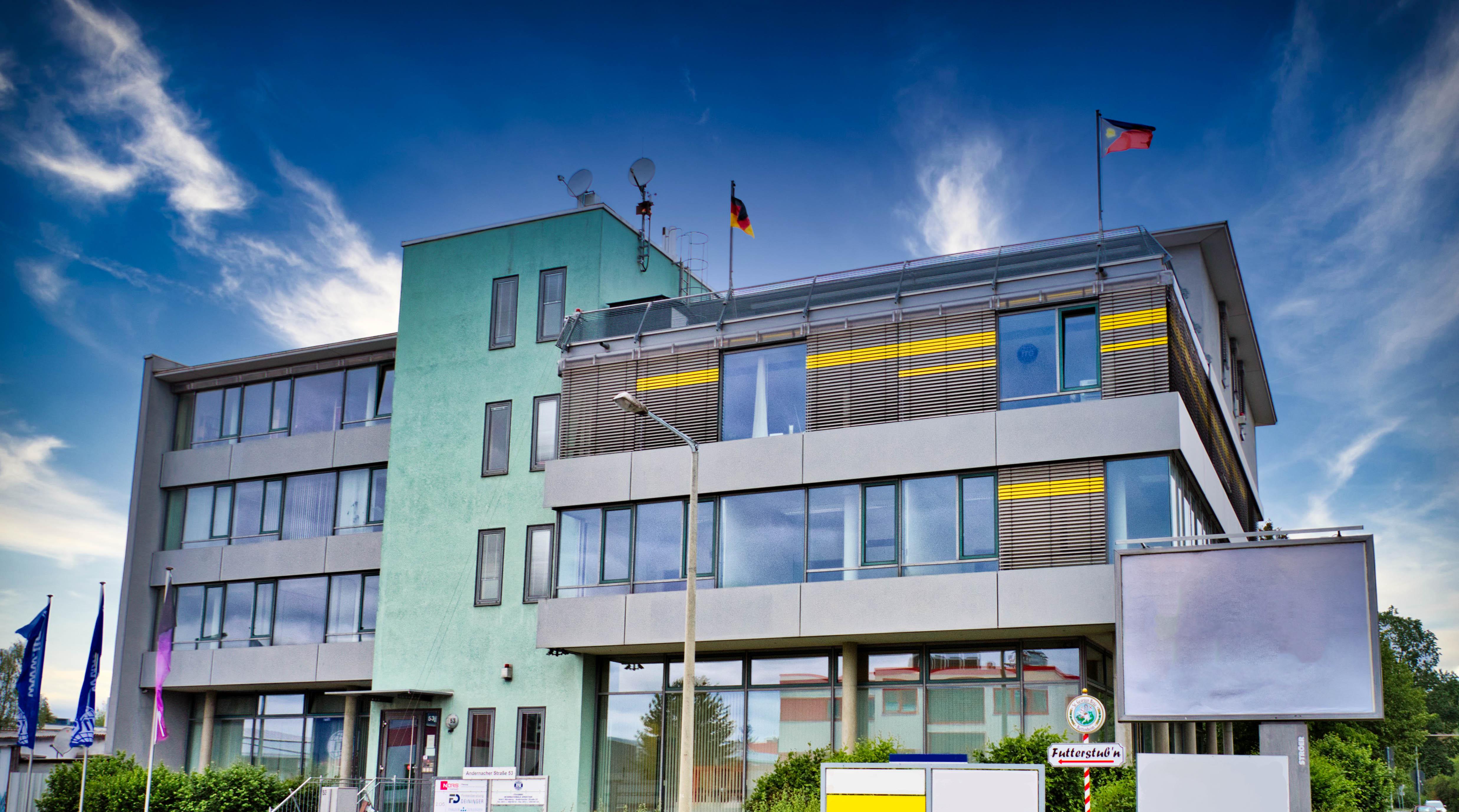 Bürogebäude von außen