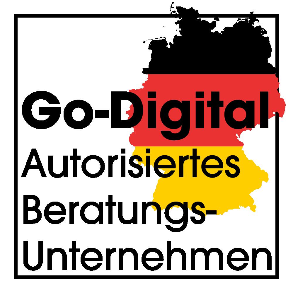 Go Digital Autorisiertes Unternehmen Logo