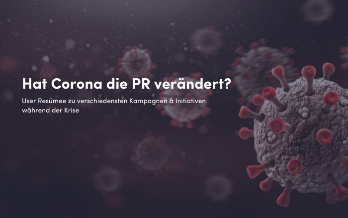 Hat Corona die PR-Welt verändert?