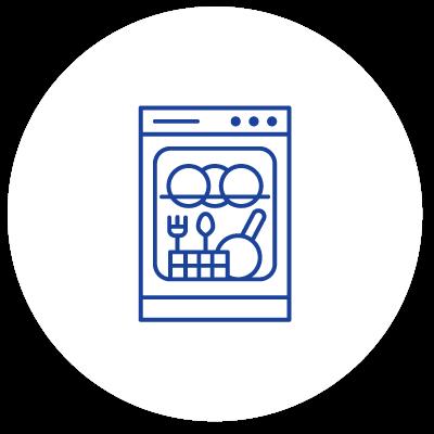 Dishwasher repair icon