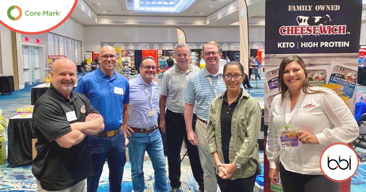 BBI C-Store Team at the 2021 Core-Mark Trade Show in Orlando, FL