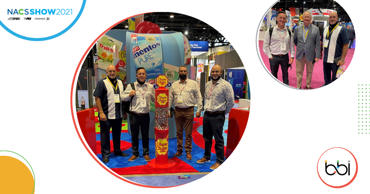 The BBI C-Store Team at the 2021 NACS Show in Chicago, IL