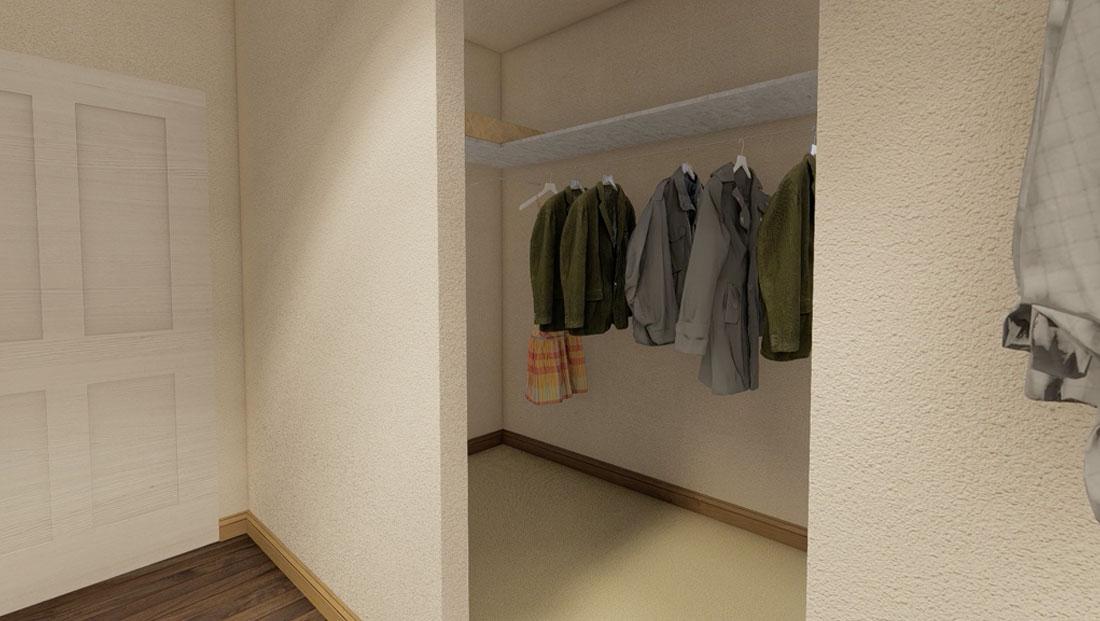master closet rendering