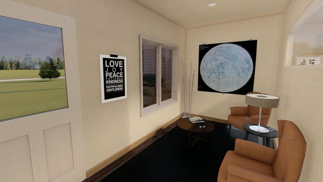 4 seasons room rendering
