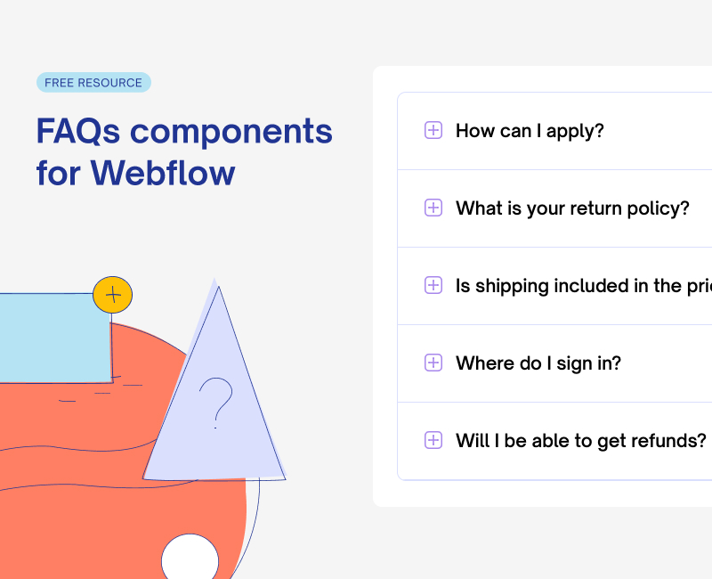 Frequently Asked Questions Components