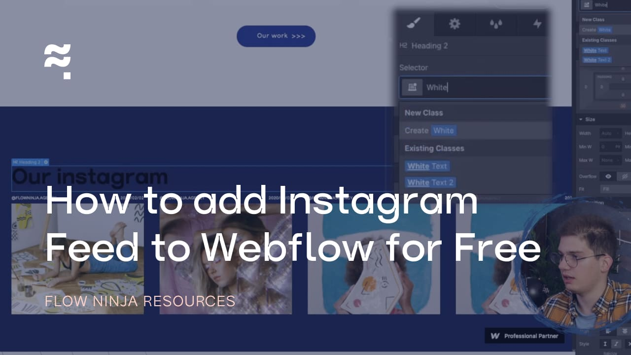 How to add Instagram Feed to Webflow for Free