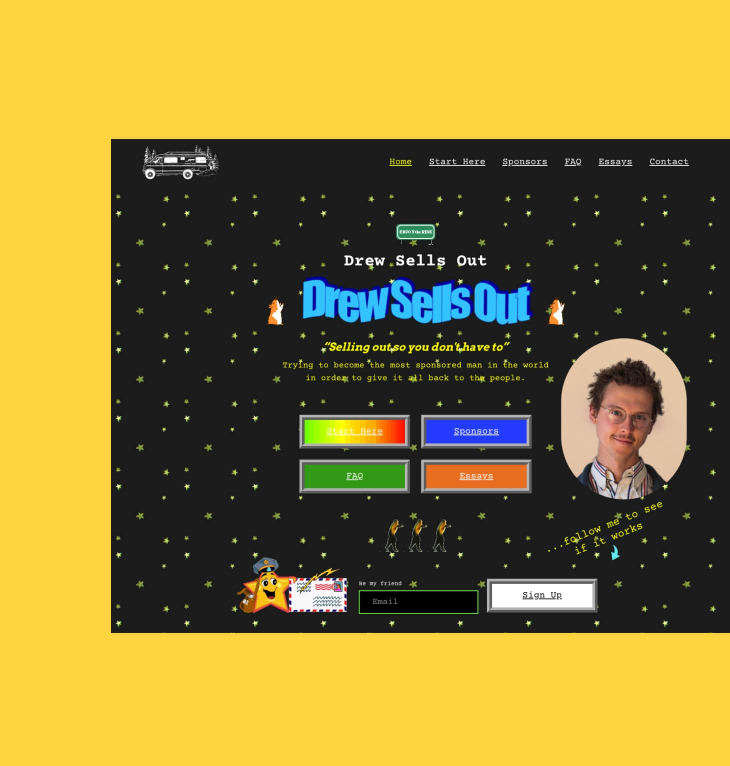Drew Sells Out