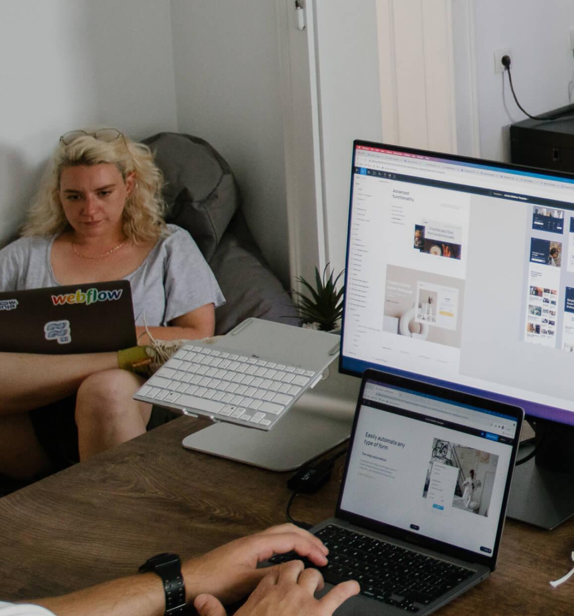 Web Designer @ Academy Student