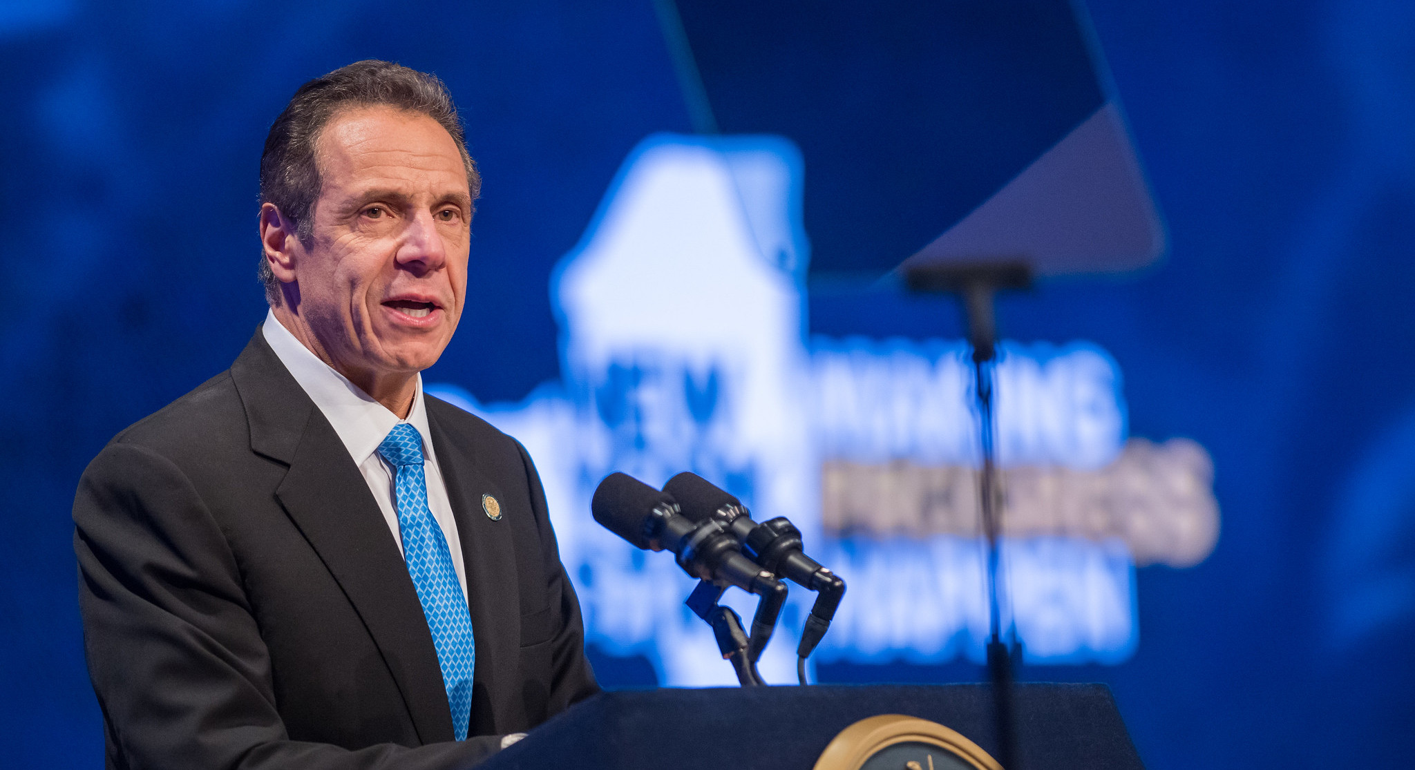 Governor Andrew Cuomo delivers his State of the State address