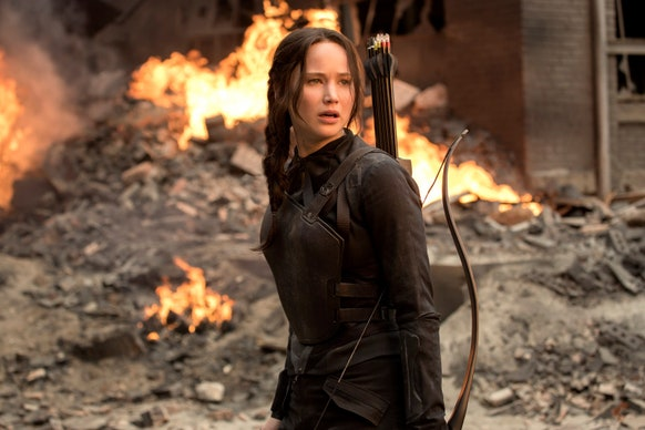 Katniss from The Hunger Games | Photo by Murray Close/Lionsgate
