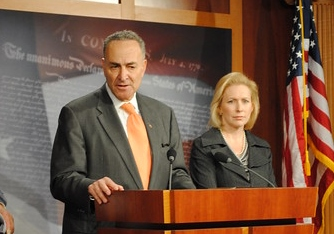 Chuck Schumer speaks in Washington | US Senate photo