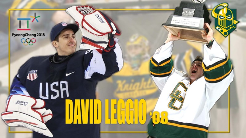 Clarkson University banner honored David Leggio | Courtesy photo