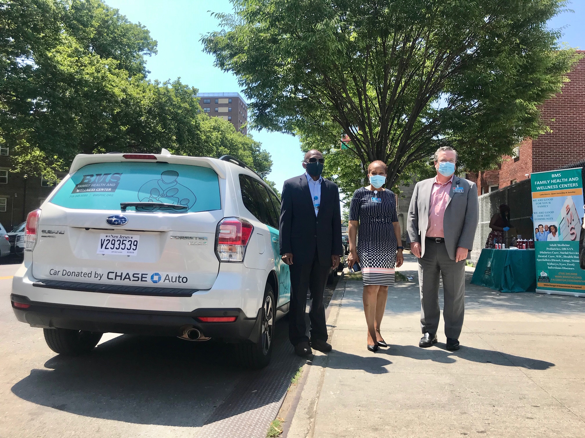 Chase Auto donates Subaru to health group | Contributed Photo