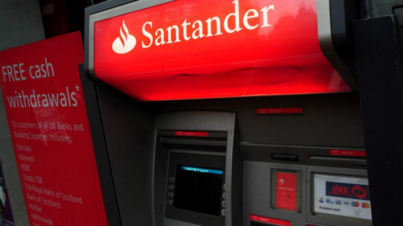 Santander ATM struck by thieves