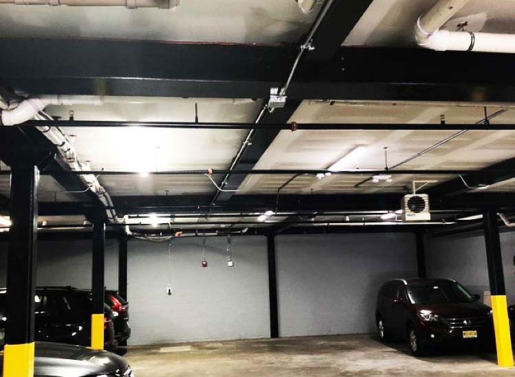 garage lighting project in nj