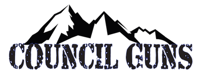 Council Guns logo with mountains