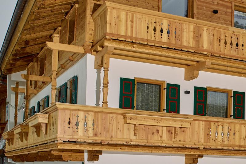 Zimmerei Naschberger Sanierung Balkon Unterhausbachhof