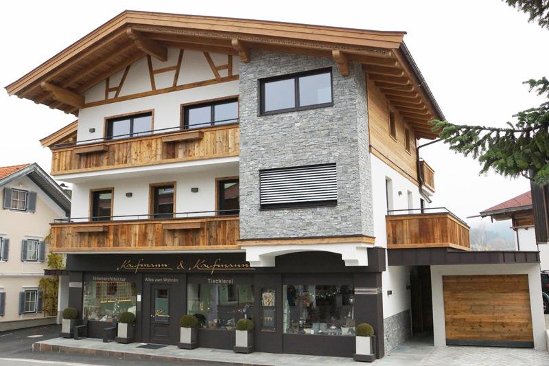 Geschäftshaus in Ellmau