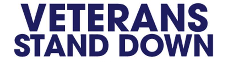 Veterans stand down logo