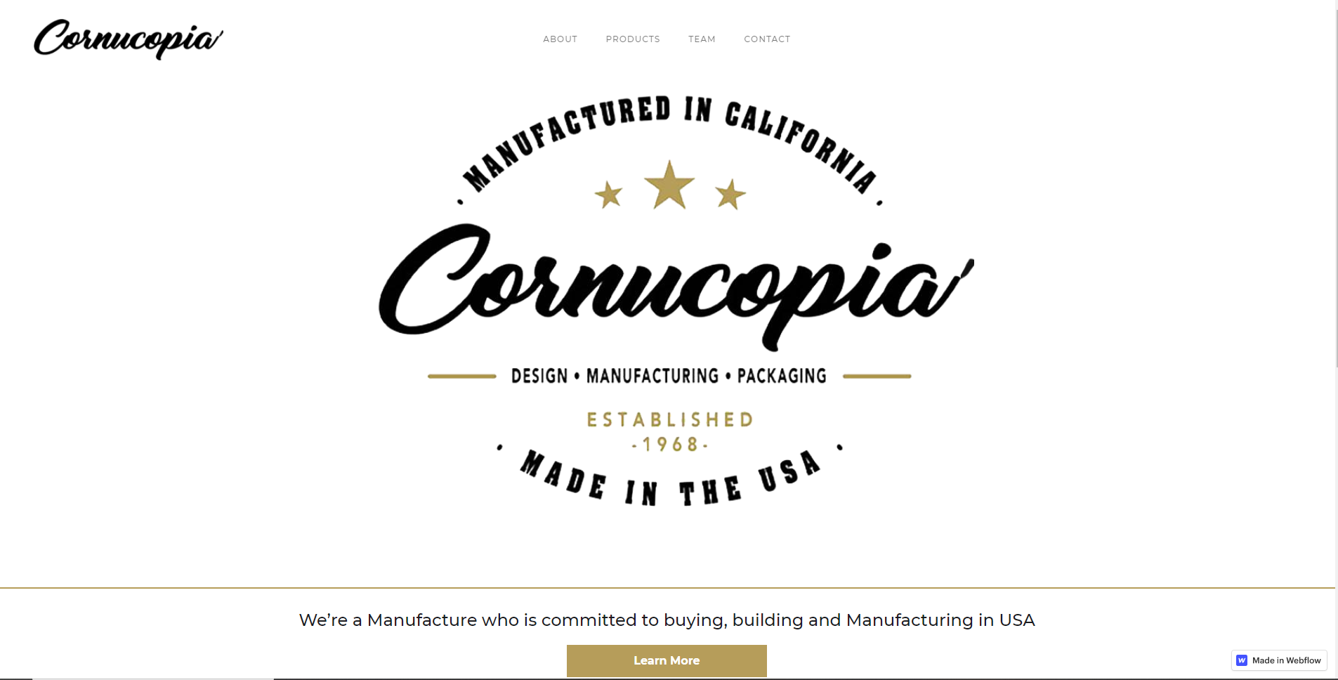 Cornucopa Plastics located in Paso Robles