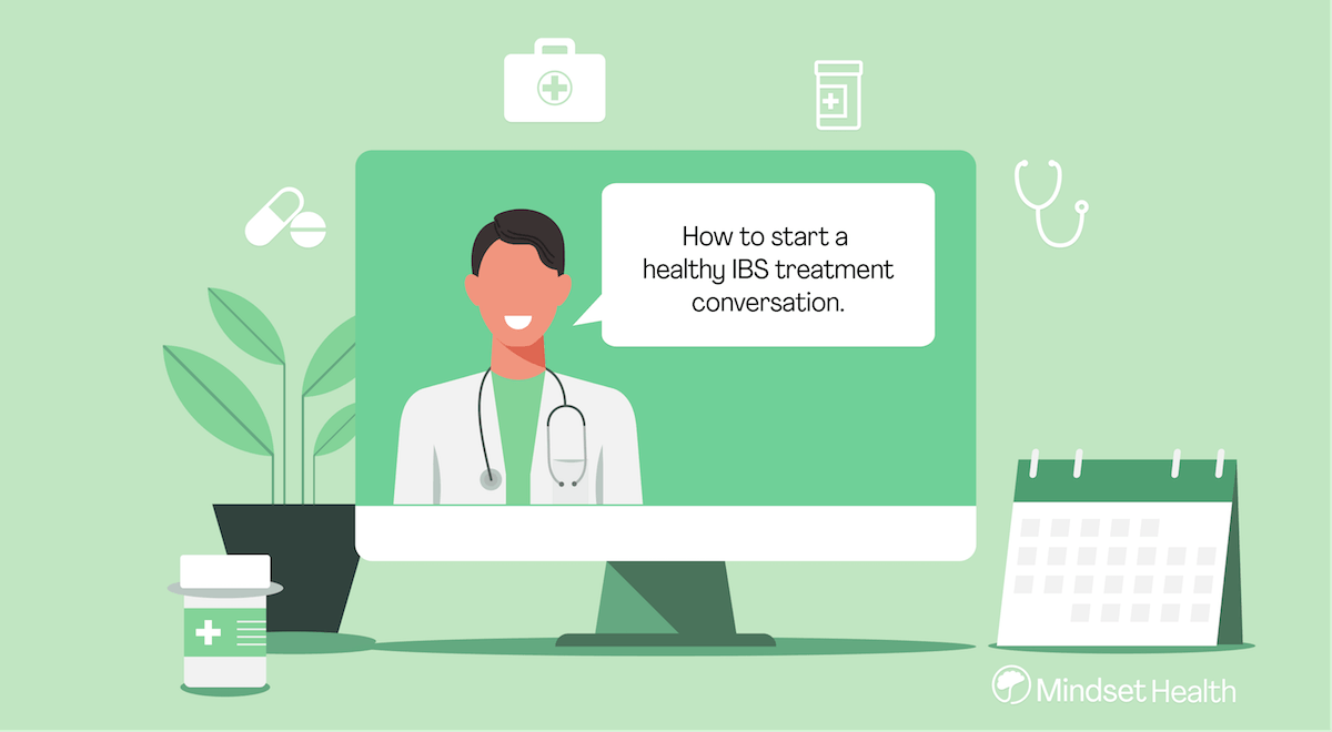 How to talk to my doctor about IBS