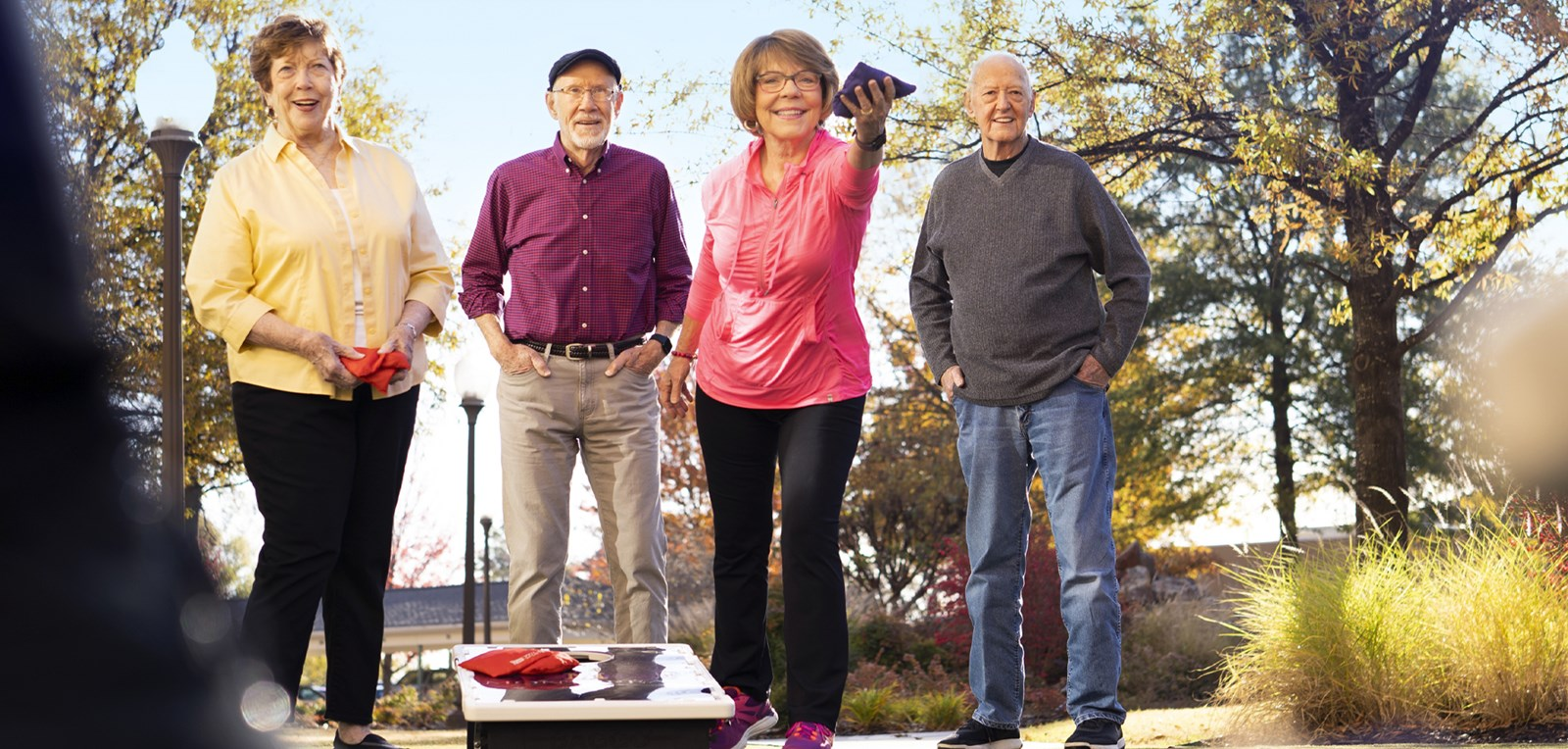 Montereau Resident Retirement Community Banner