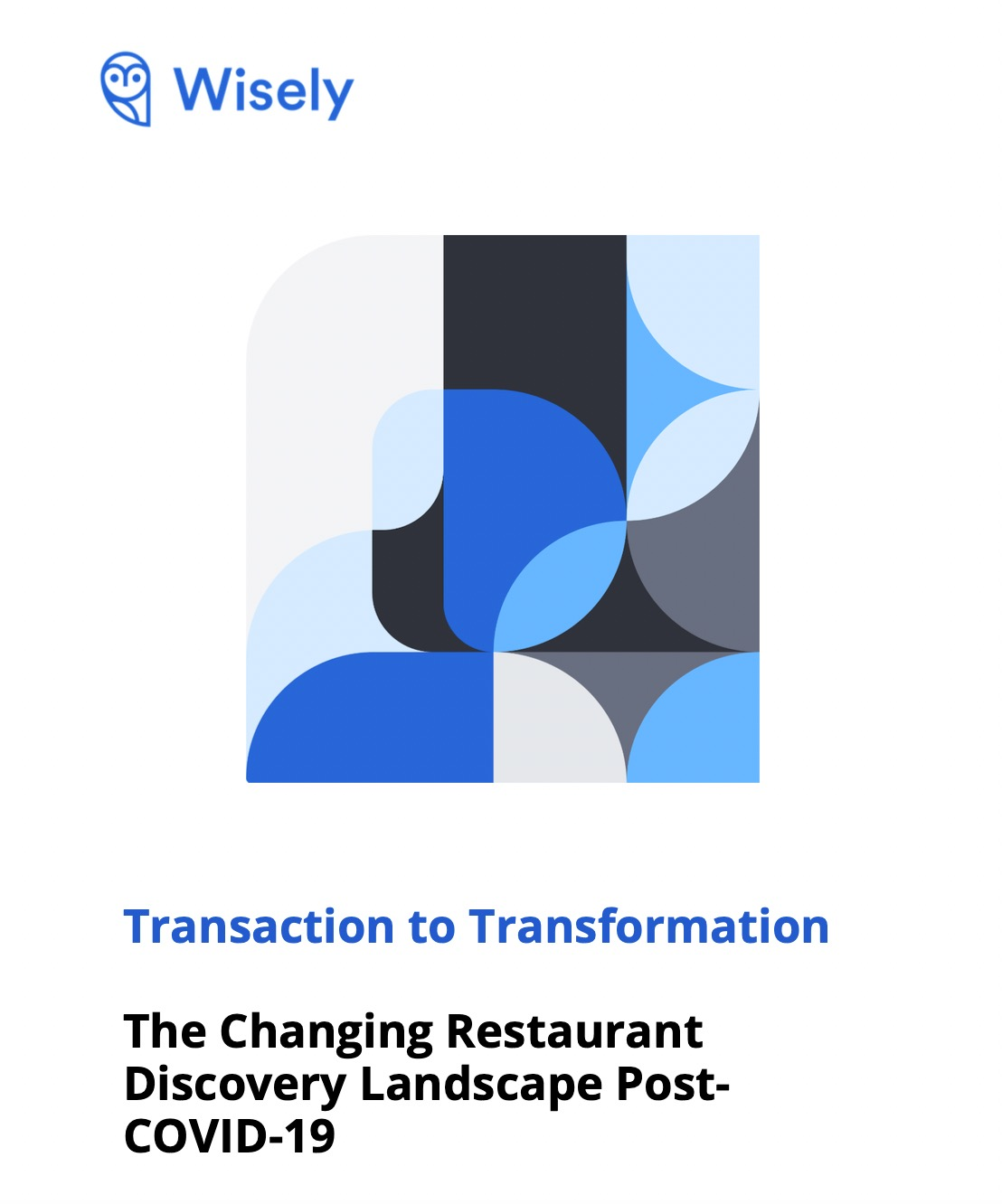 Wisely eBook Restaurant Discovery