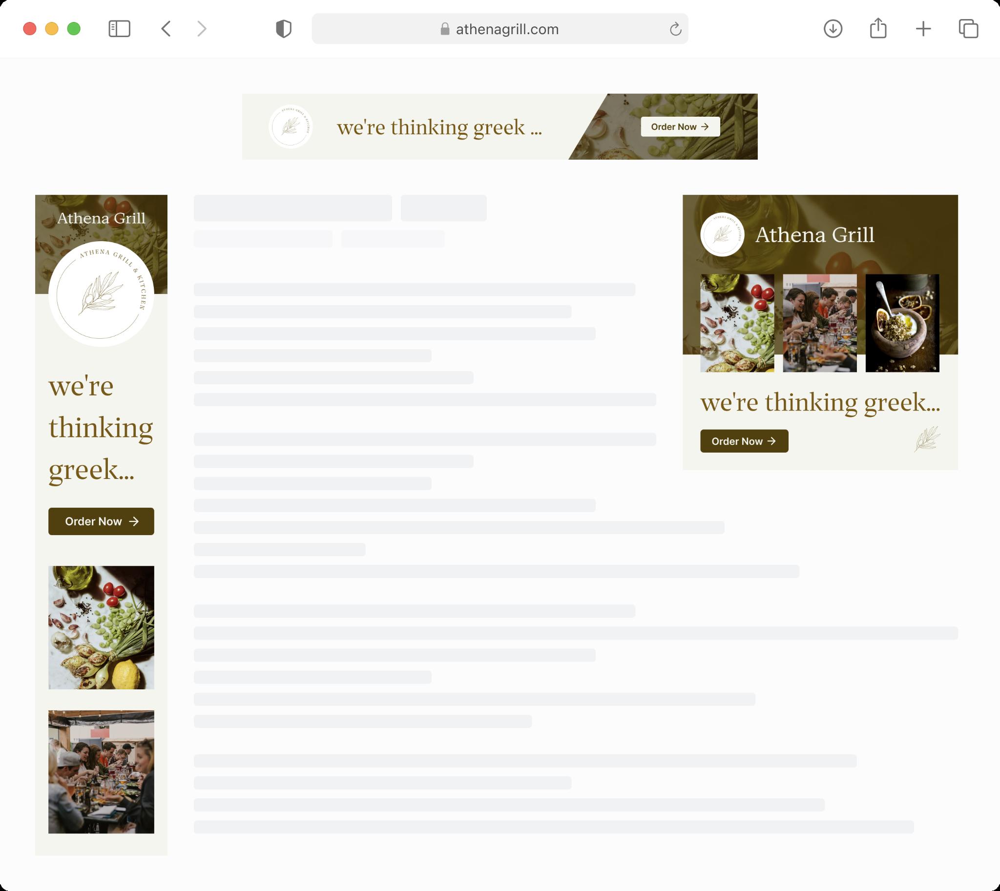 Restaurant Customer Acquisition - Remarketing Ads