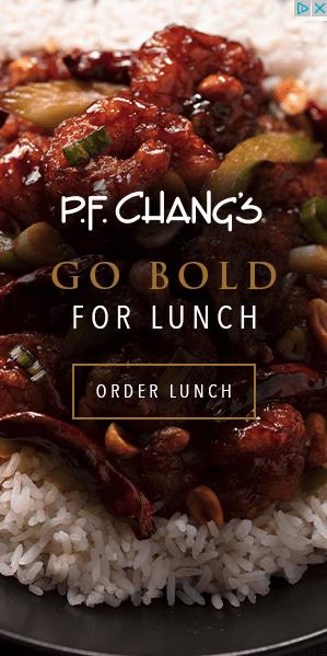 P.F. Chang's Display Ad