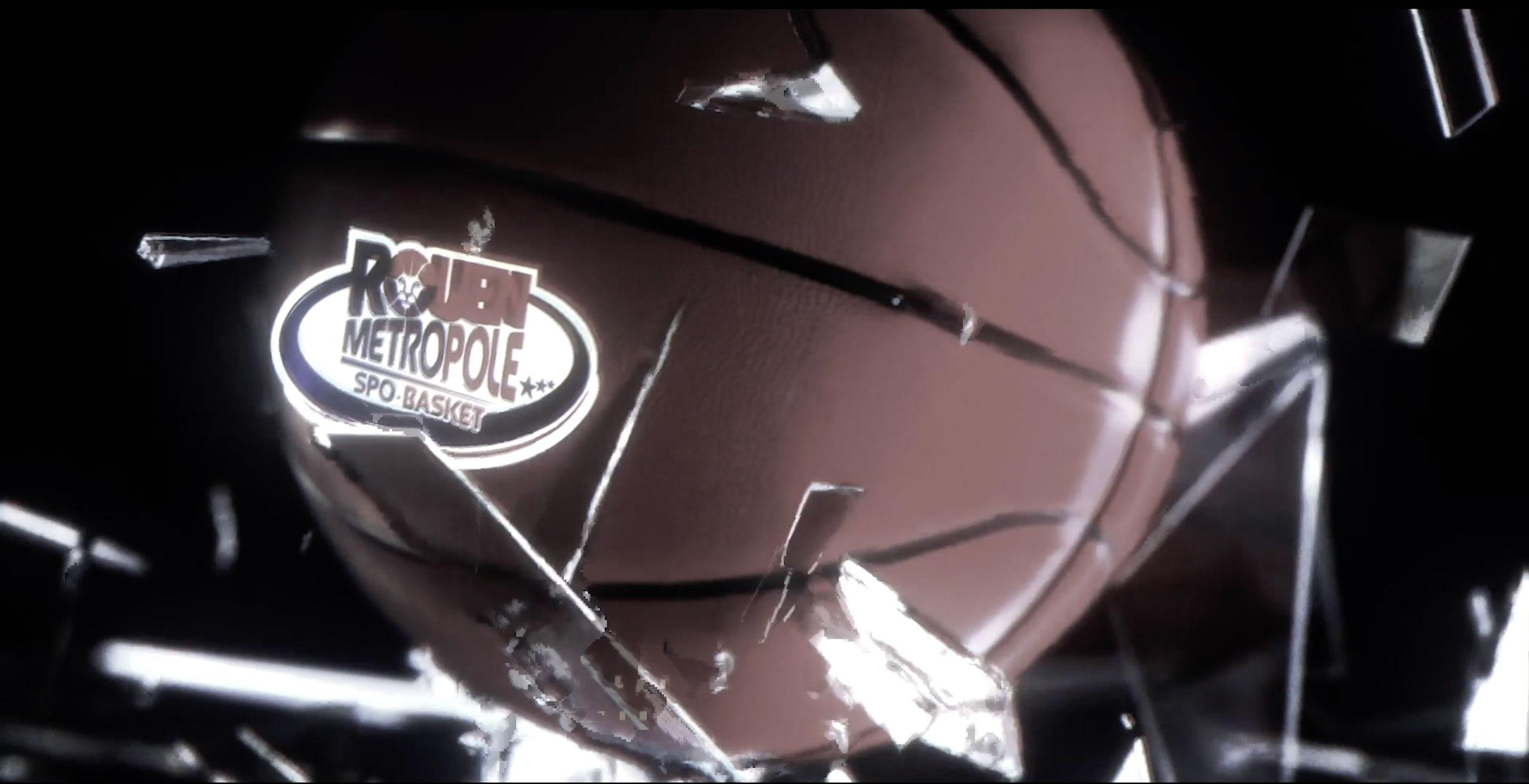 Rouen Métropole Basket - Production Audiovisuelle by Haus Division - Agence Web Rouen