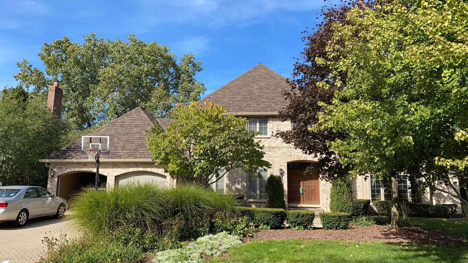 Burr Ridge, IL roof completed by Feze Roofing Inc.