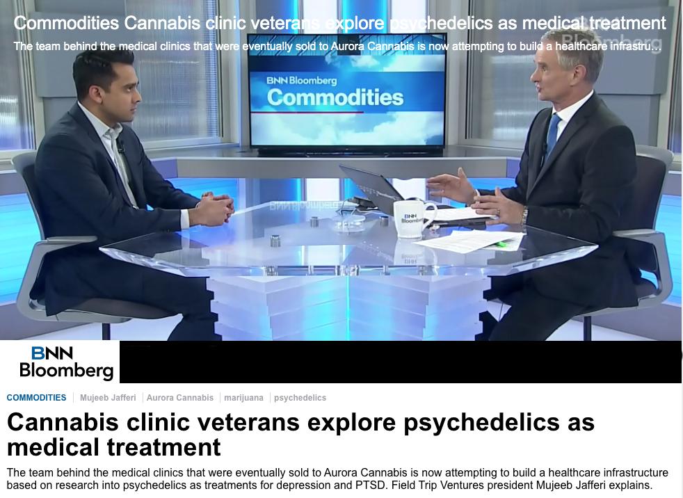 Cannabis Clinic Veterans Explore Psychedelics as Medical Treatment