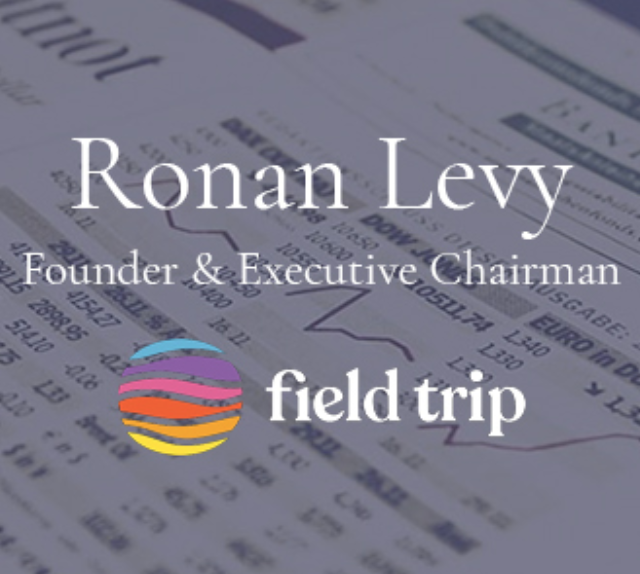Interview with Ronan Levy, Founder of Field Trip Health
