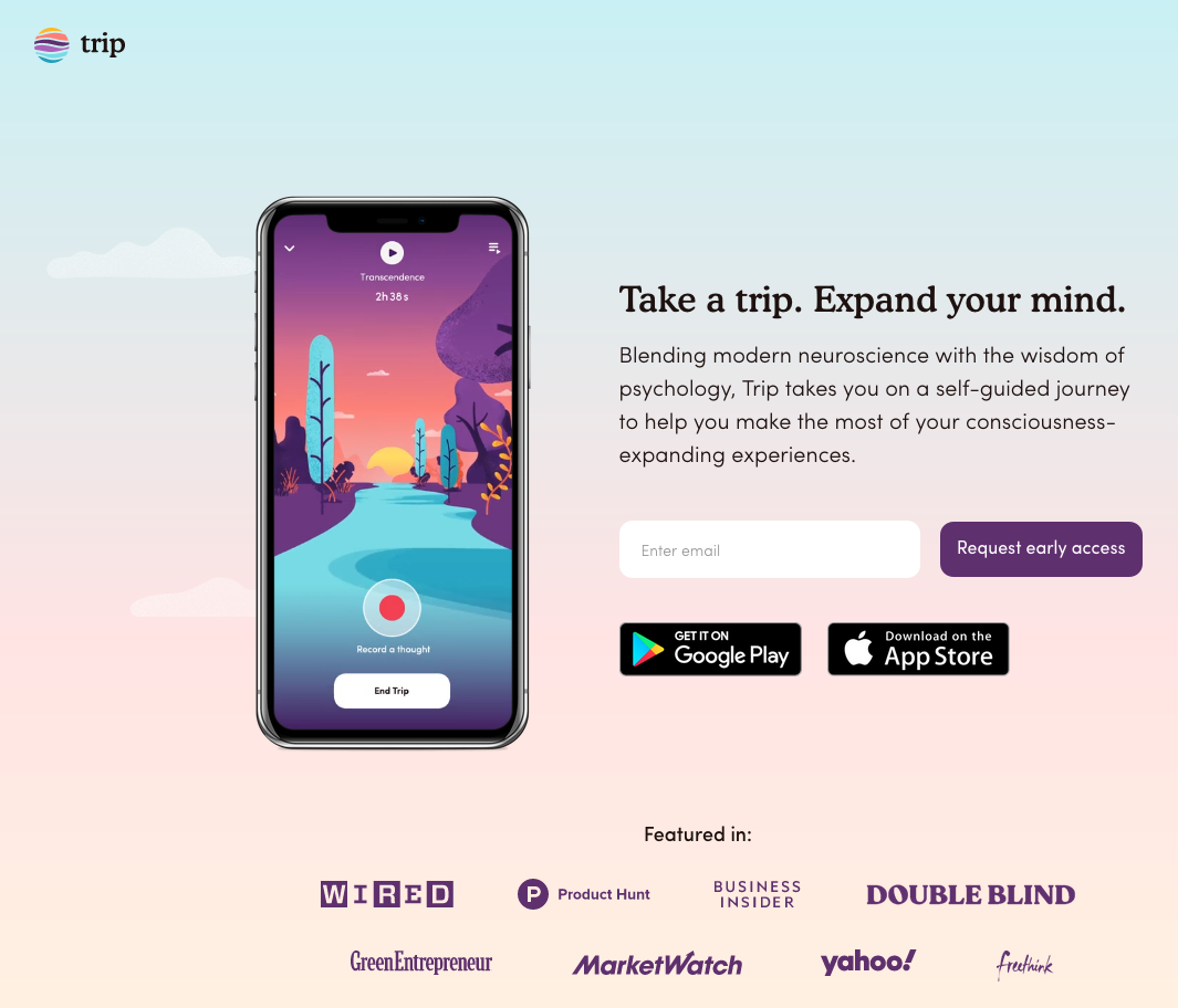 Field Trip Psychedelics Inc. Introduces Trip, a Mobile App Designed to Expand Your Mind
