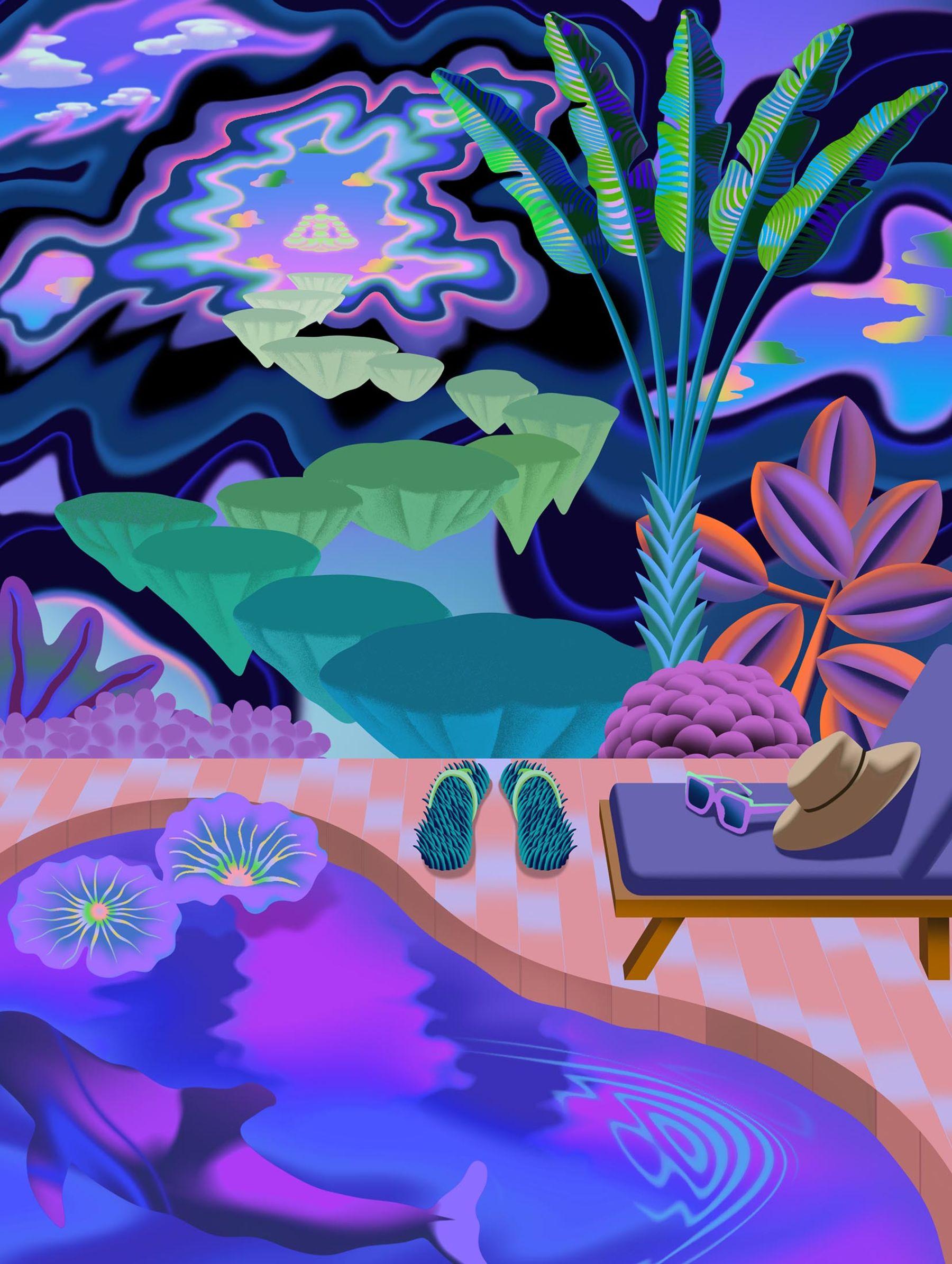 All-Inclusive Magic Mushroom Retreats Are the New Luxury 'Trips'