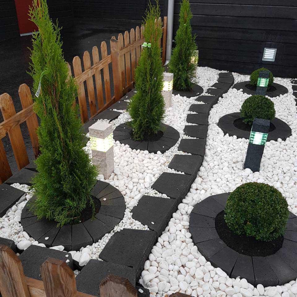 Mur trädgård