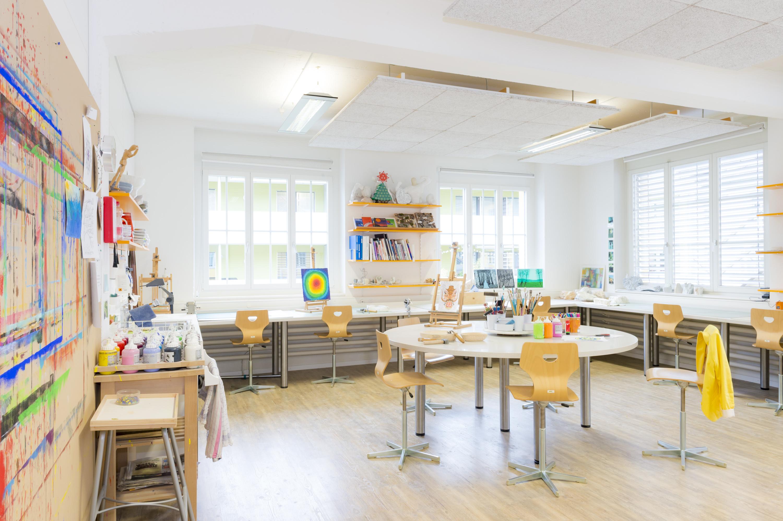 Klinik Im Hasel Lenzburg Malwerkstatt