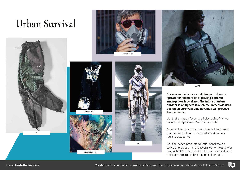 Urban Survival Trend Board, image source   www.chantellfenton.com