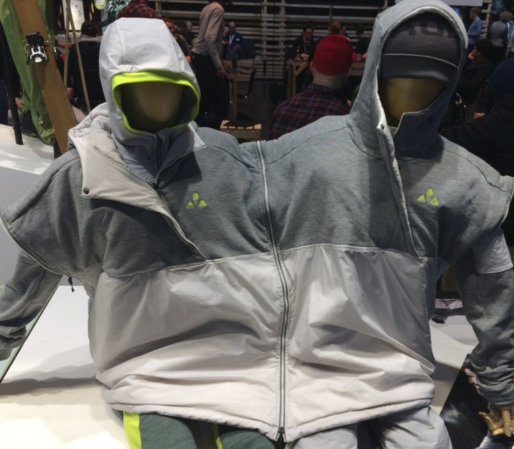 "Vaude unisex ""Green shape core"" at ISPO 2018"