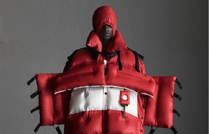 #3 Moncler (Italy) 2.8 mio followers