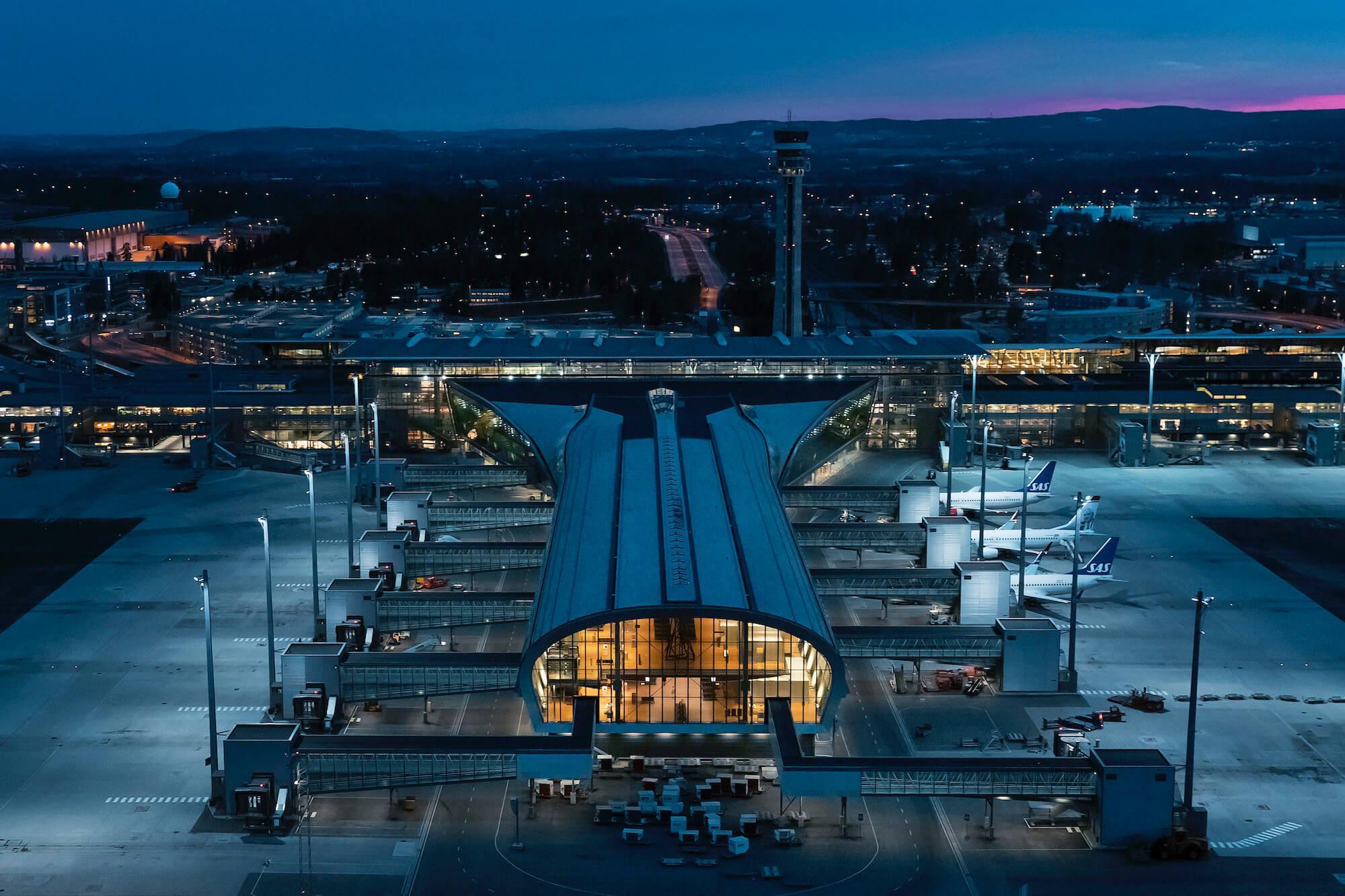 T2 Avinor Oslo Lufthavn