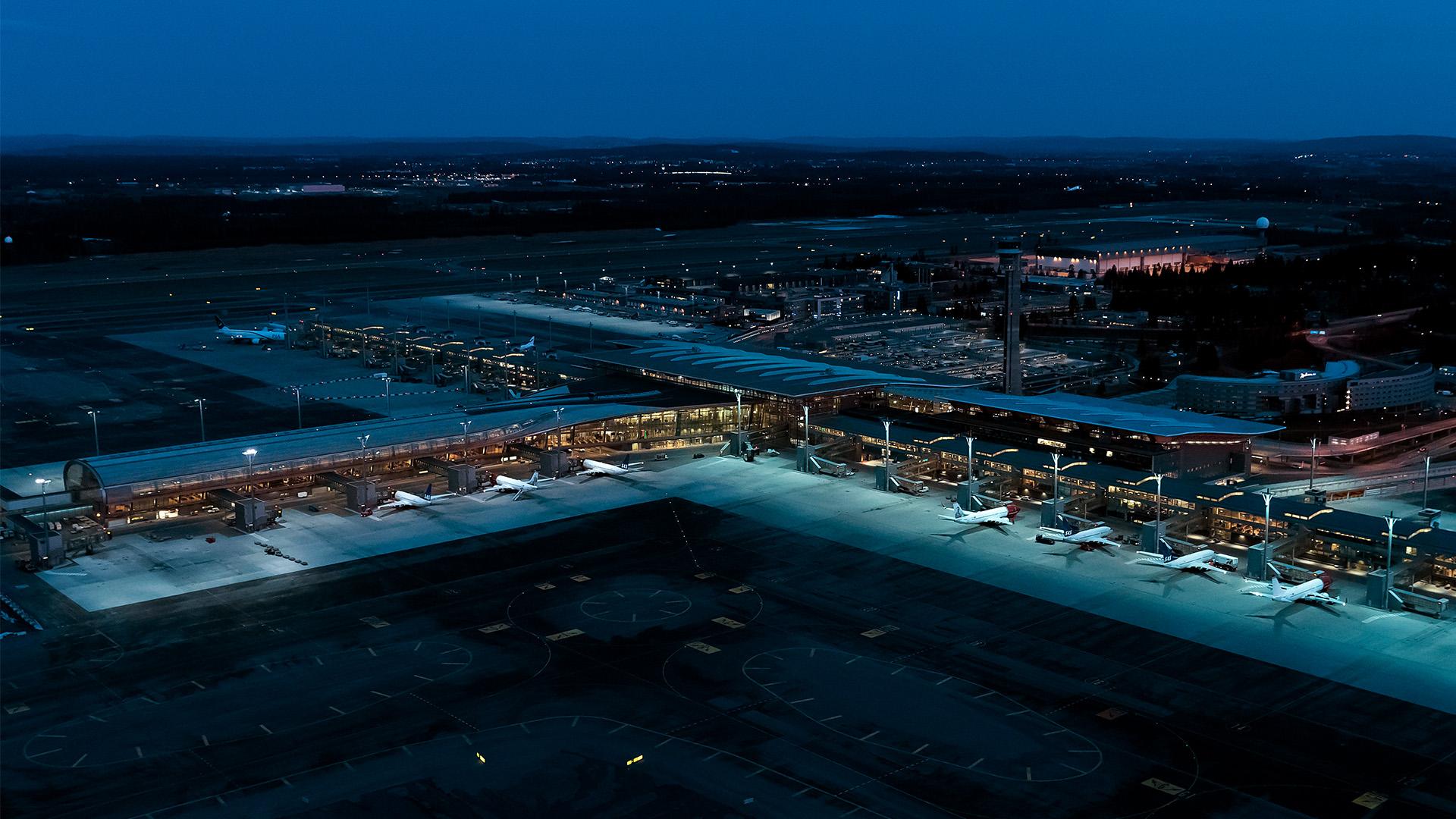 Utbyggingen av Oslo lufthavn