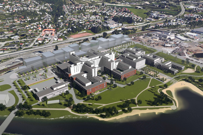 Nytt Sykehus i Drammen