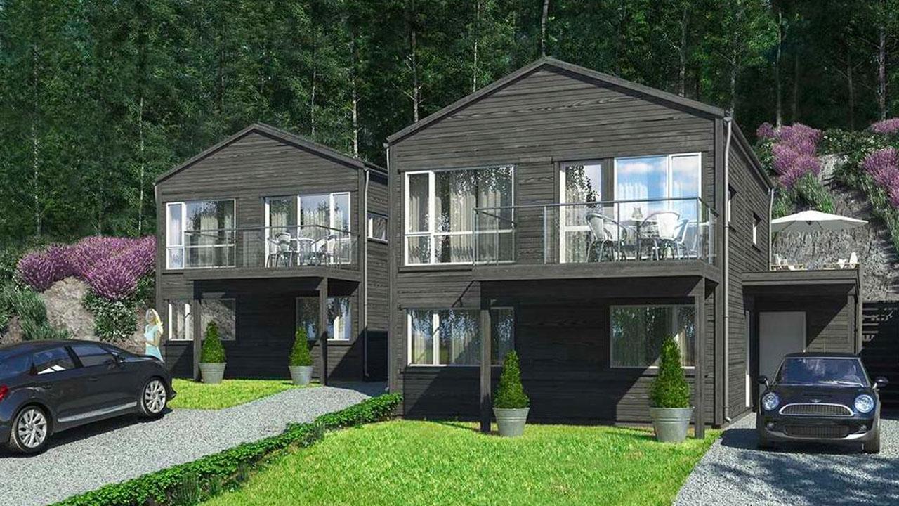 Nordal Panorama et bærekraftig boligprosjekt i Lier