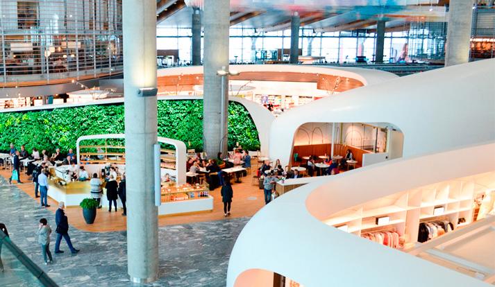 Oslo lufthavn kommersielle arealer