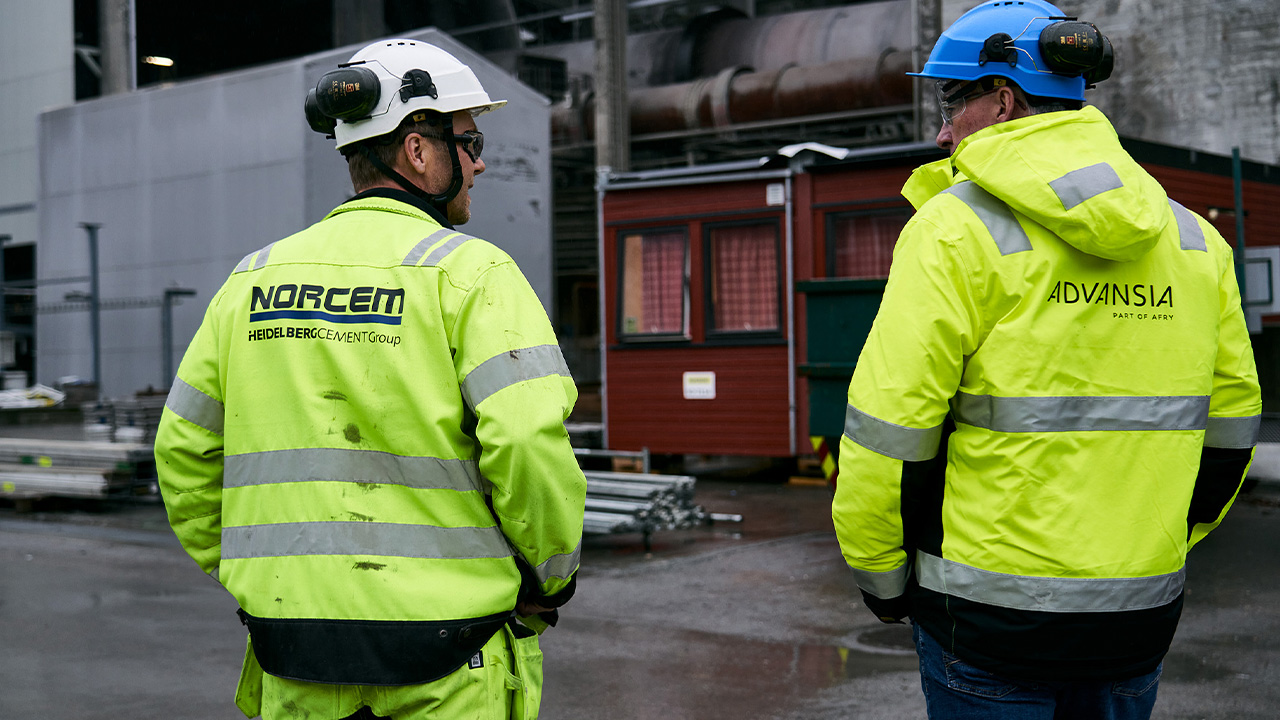 Norcem Brevik blir verdens første sementfabrikk med fullskala karbonfangst