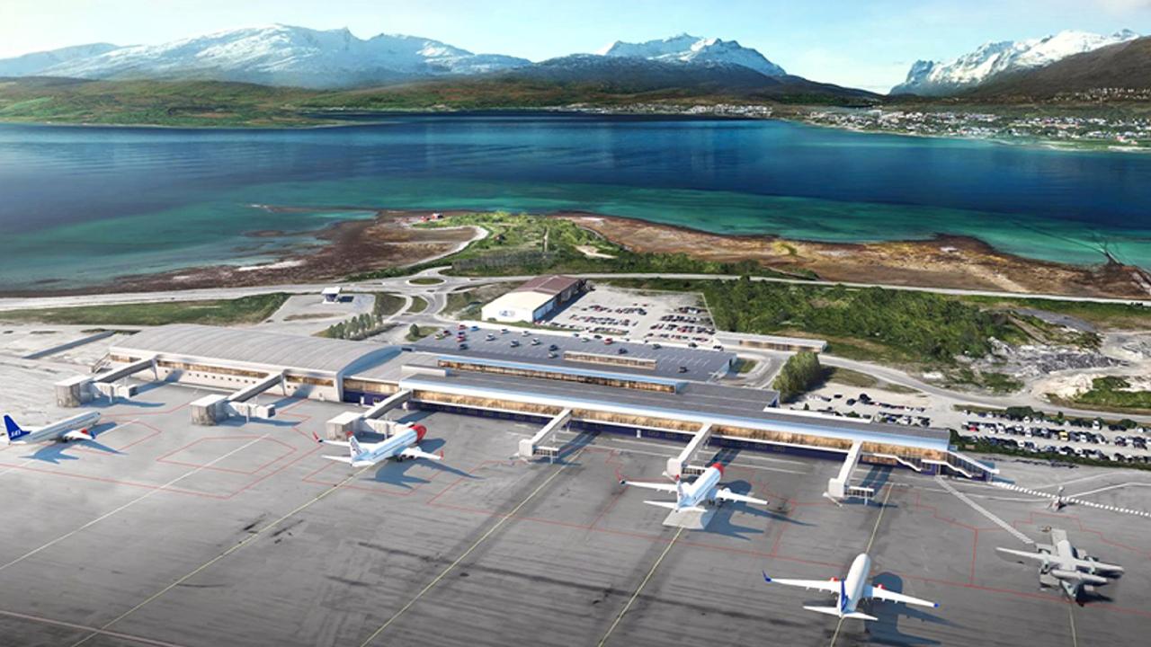 Tromsø Lufthavn – Nytt terminalbygg og flyoppstillingsplasser