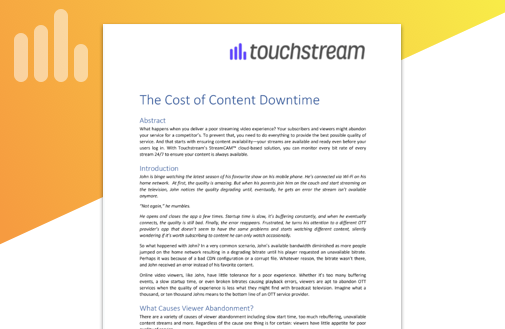 White Paper: The Cost of Downtime