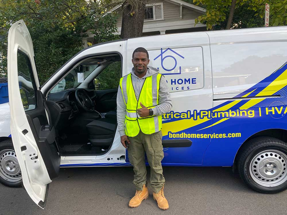 bond home services technician