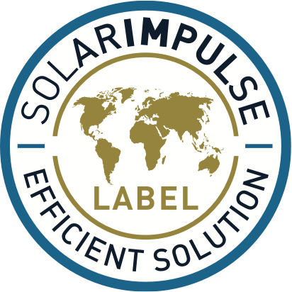 Solar Impulse Efficient Solution Label